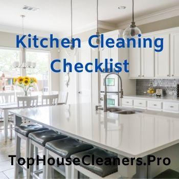 kitchen-house-cleaning-checklist