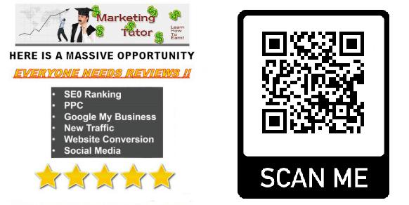 The Marketing Tutor Qr Code Example