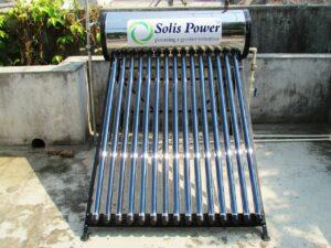 solar-power water heating