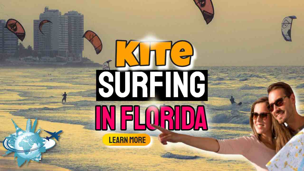 """Image text: """"Kite Surfing in Florida""""."""