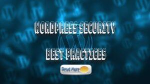 Security Best Practices